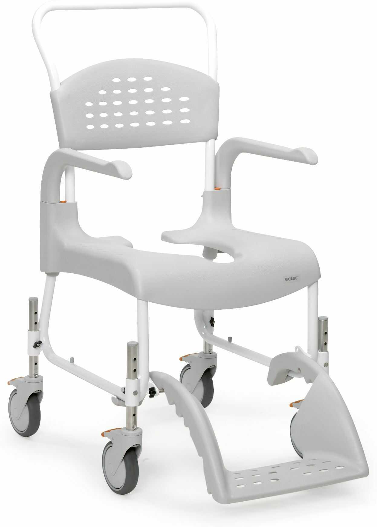 Clean HRB wózek toaletowo-prysznicowy z regulowaną wysokością