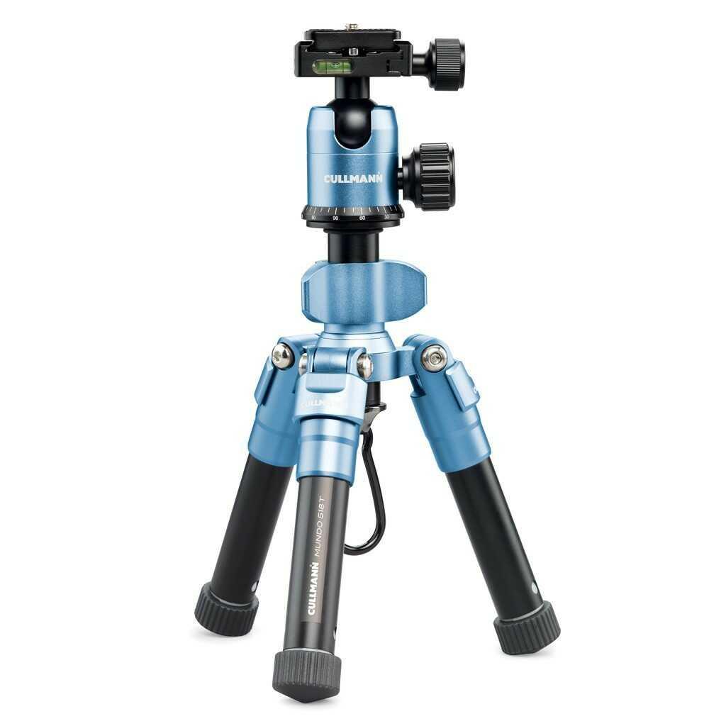 Statyw fotograficzny Cullmann MUNDO 518T niebieski