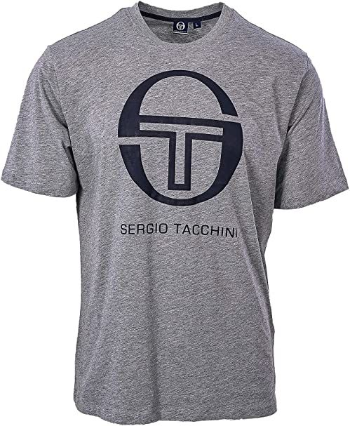 Sergio Tacchini Dziewczęca Eva T-shirt dziewczęcy T - koszulka biały White/Navy LJ