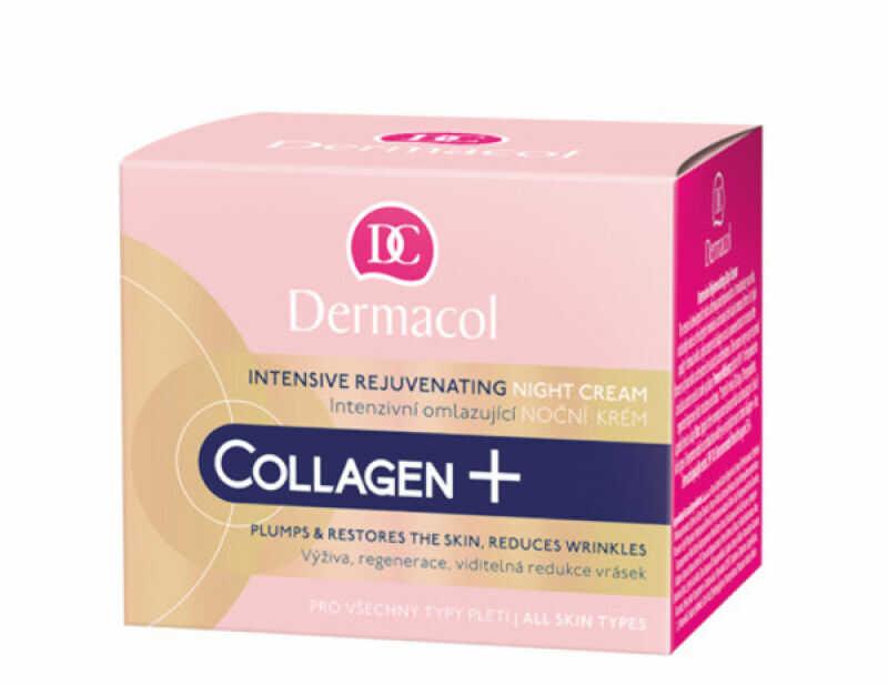 Dermacol - Collagen+ Intensive Rejuvenating Night Cream - Odmładzający krem do twarzy na noc