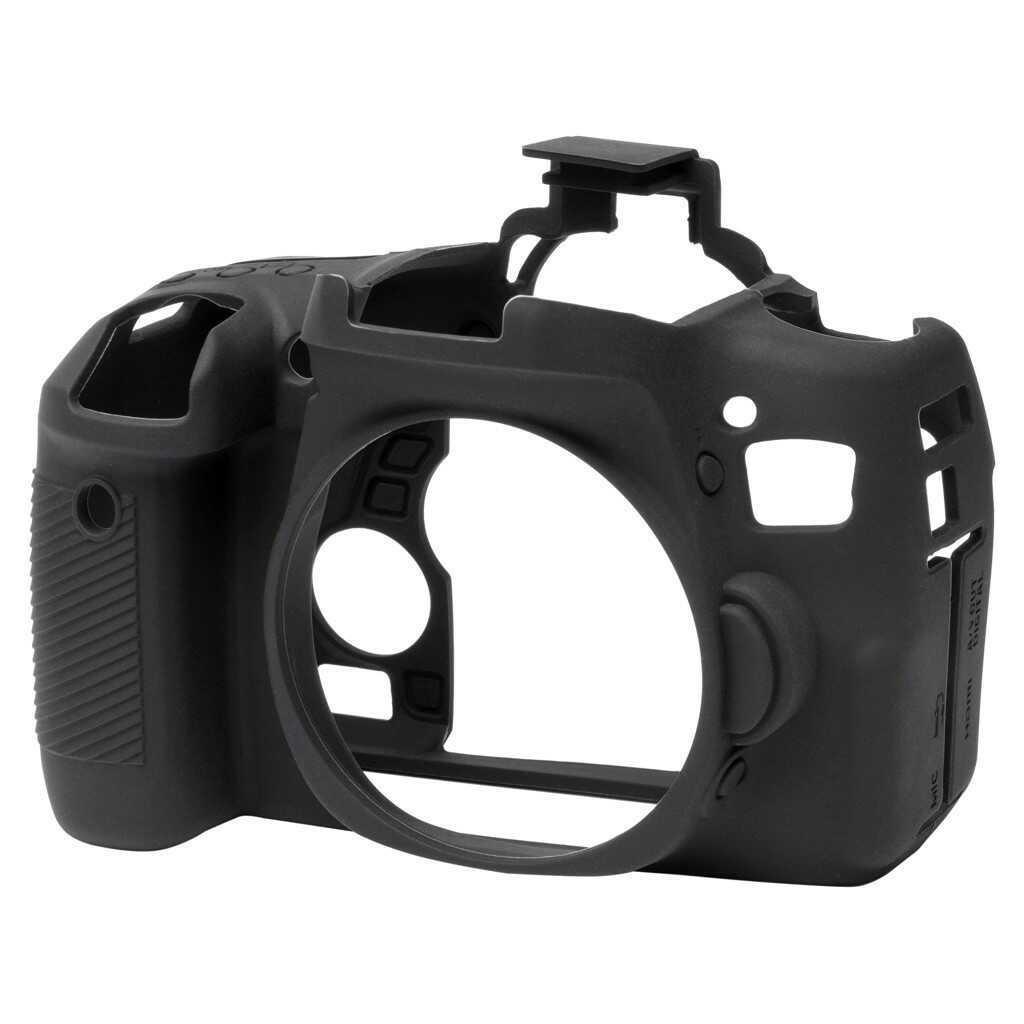 Osłona silikonowa easyCover do aparatów Canon EOS 760D czarna