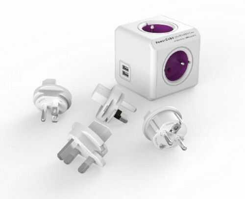 PowerCube ReWirable USB + 4 wtyczki