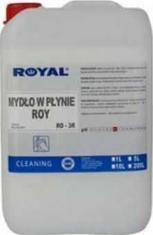 Mydło w płynie antybakteryjne białe ROY 5 L