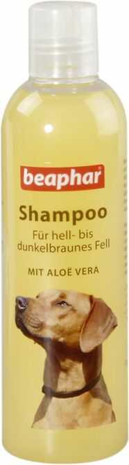 Aloesowy szampon dla psów od jasnej do ciemnobrązowej sierści 250 ml