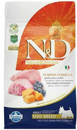 Farmina N&D Pumpkin Lamb&Blueberry Adult Mini Dog