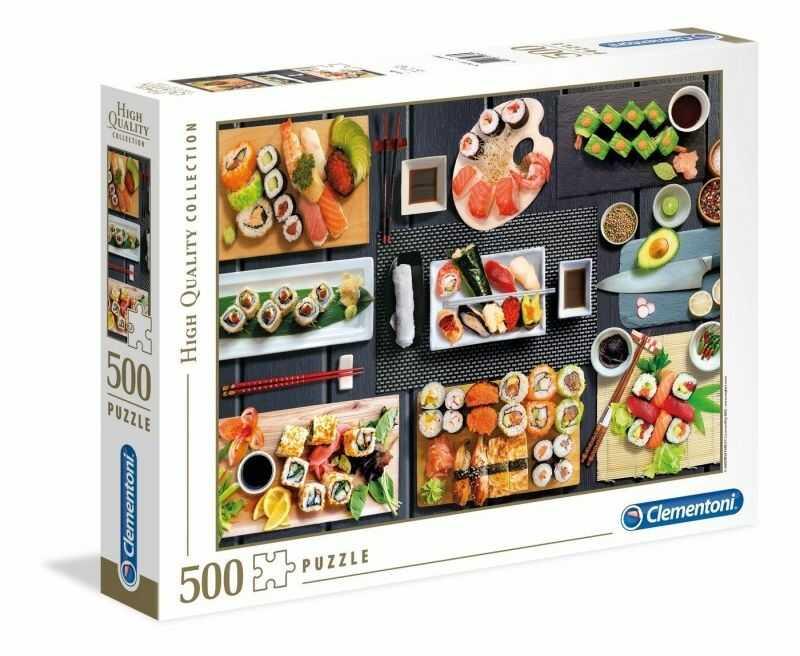 Puzzle Clementoni 500 - Sushi