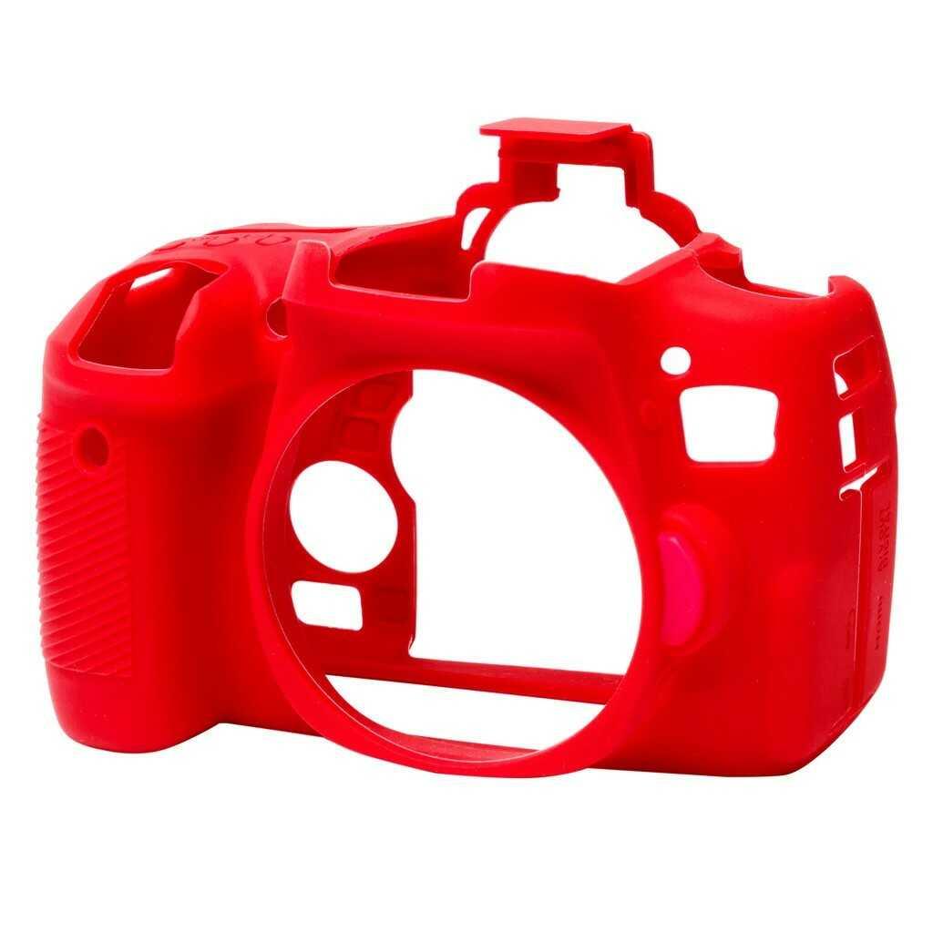 Osłona silikonowa easyCover do aparatów Canon EOS 760D czerwona