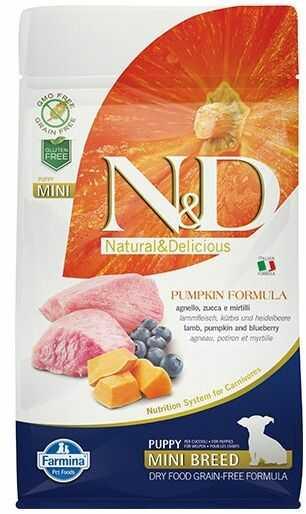 N&D Pumpkin Lamb&Blueberry Puppy Mini Dog