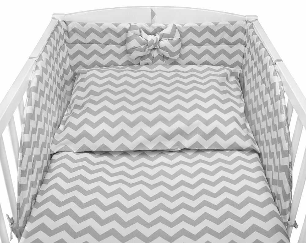 Pościel dziecięca do łóżeczka polskiej marki wykonana z bawełny