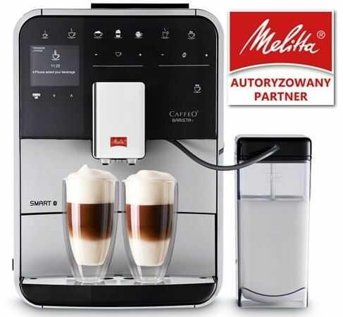 Ekspres do kawy Melitta Barista T Smart - Srebrny