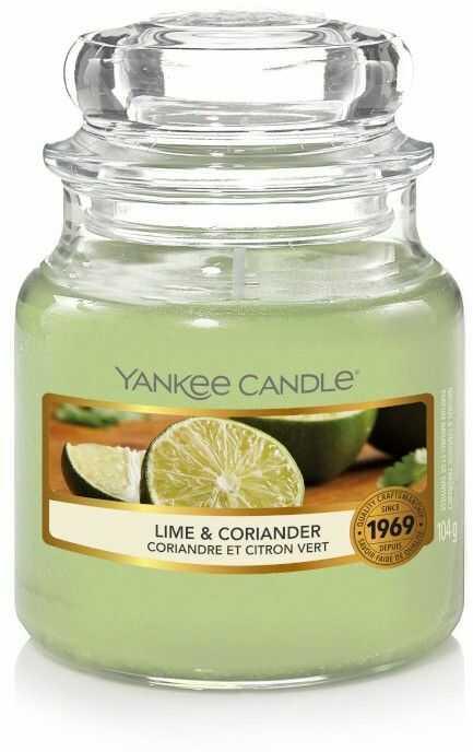 Yankee Candle Lime & Coriander świeczka zapachowa 104 g
