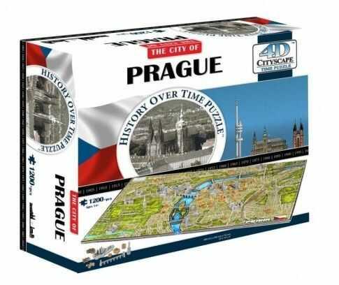 Puzzle 4D - Praga, Słowacja