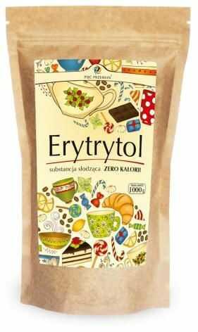 Erytrytol (torebka papierowa) 1000 g Pięć Przemian