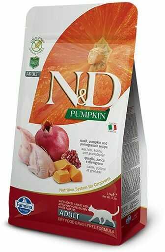 N&D Pumpkin Quail & Pomegranate Adult Cat