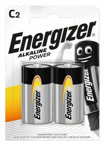 Bateria alkaliczna C / LR14 Energizer Alkaline Power - 2 sztuki (blister)