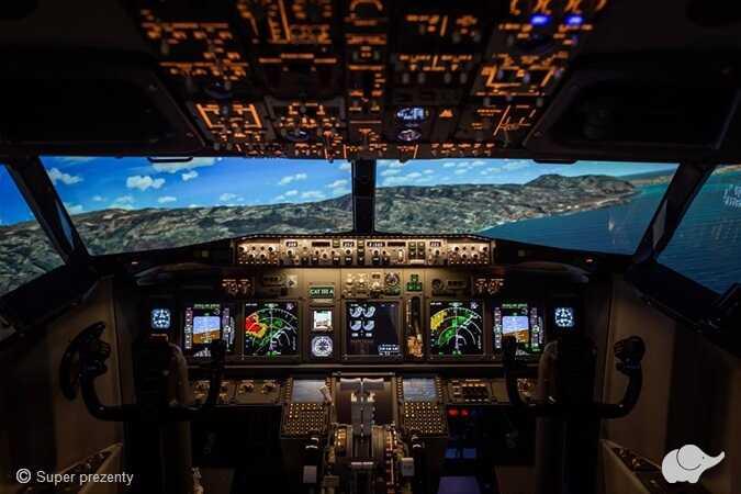 Zostań pilotem Boeinga 737