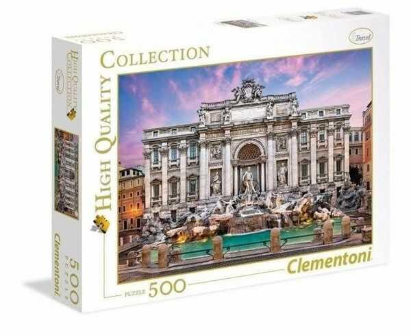 Puzzle 500 Trevi Fountain - Clementoni