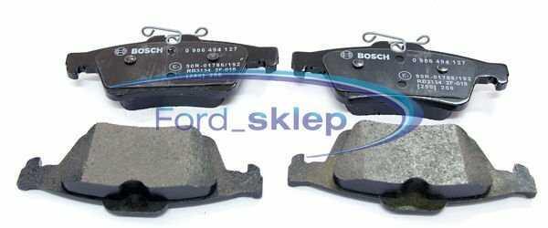 klocki hamulcowe Focus Mk2 kpl. tył - Bosch