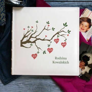 Drzewo Rodzinne - Personalizowany Album na zdjęcia