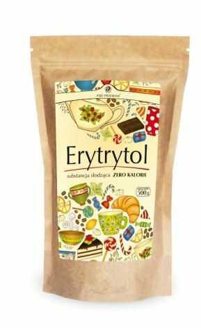 Erytrytol (torebka papierowa) 500 g Pięć Przemian