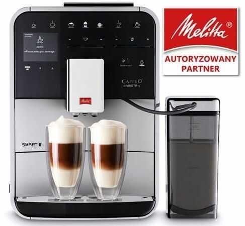 Ekspres do kawy Melitta Barista TS Smart - Stal nierdzewna