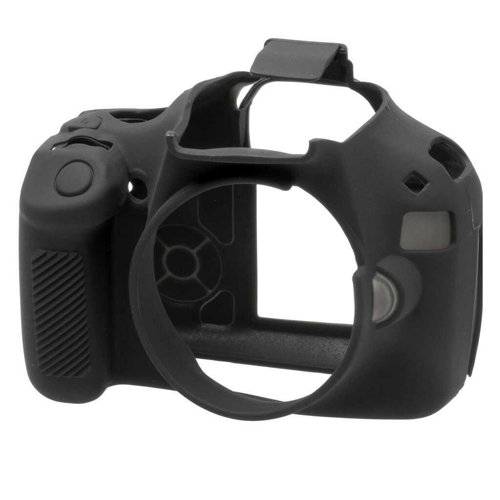 Osłona silikonowa easyCover do aparatów Canon EOS 1100D czarna