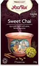 Herbatka SŁODKI CHAI BIO (17 x 2 g) Yogi Tea