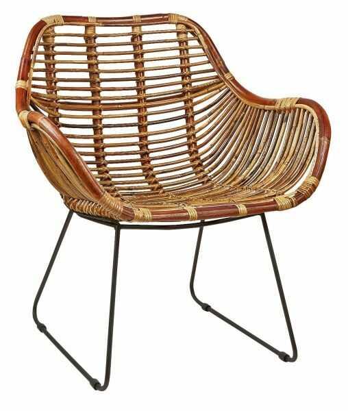 Villa Collection NATURE Fotel - Krzesło Rattanowe