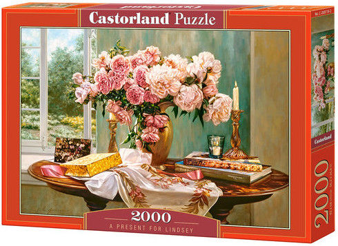 Puzzle Castorland 2000 - Prezent dla Lindsey, A Present for Lindsey