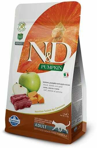 N&D Pumpkin Venison & Apple Adult Cat