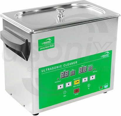 Myjka ultradźwiękowa - 3 litry - 80 W - Memory Quick Eco - ulsonix - PROCLEAN 3.0 ECO - 3 lata gwarancji/wysyłka w 24h