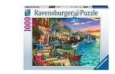 Puzzle Ravensburger 1000 - Pod palmami, Under the palm trees