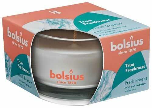 Świeca zapachowa w szkle 50/80 True Freshness Świeża Bryza 1 szt.