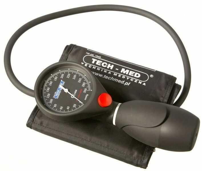 Ciśnieniomierz zegarowy Precision BPM TECH-MED ( kod GTU_09 ).