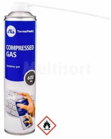 Sprężone powietrze do czyszczenia, usuwania kurzu COMP AIR 600ml