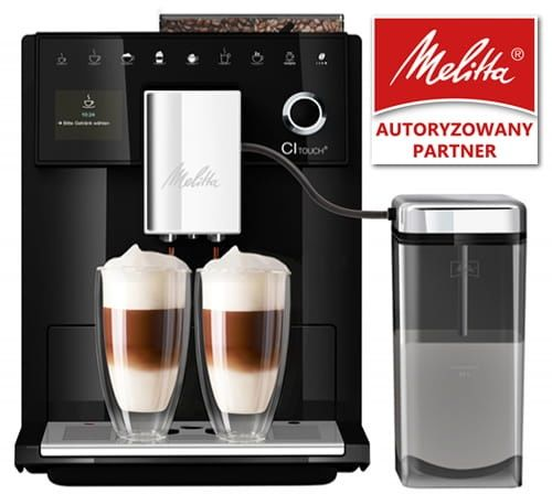 Ekspres do kawy Melitta CI Touch - Czarny + Kod rabatowy
