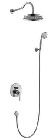 Omnires Armance kompletny łazienkowy system podtynkowy chrom SYSAM10CR