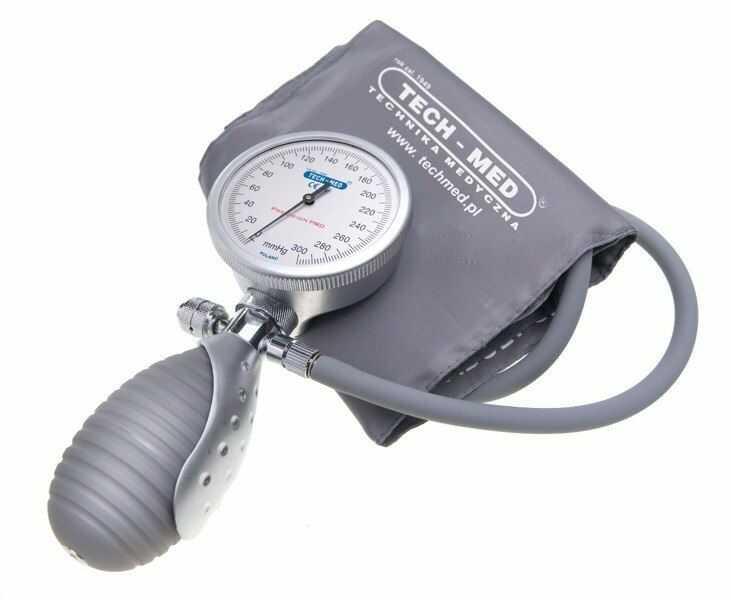 Ciśnieniomierz zegarowy Precision PRO TECH-MED ( kod GTU_09 ).