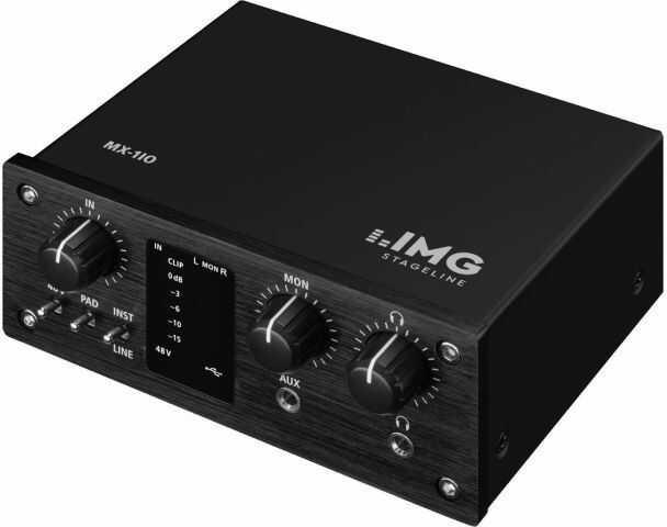 IMG STAGELINE MX-1IO Interfejs rejestrujący USB (1-kanałowy)