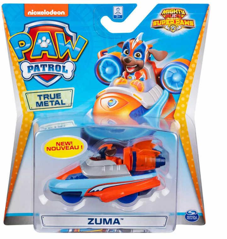 Psi Patrol - Zuma i jego pojazd True Metal 20127218 6054830