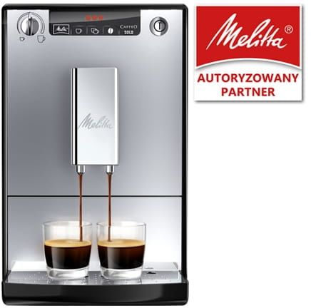 Ekspres do kawy Melitta SOLO - Srebrny