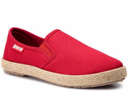 Espadryle DD274018 Czerwony