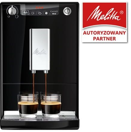 Ekspres do kawy Melitta SOLO - Czarny