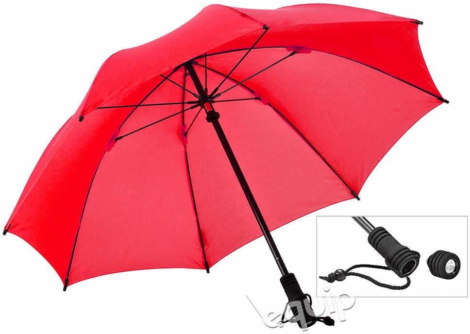 Parasol turystyczny Euroschirm Swing Flashlite - red