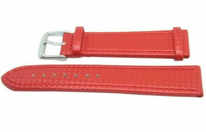 Pasek MORELLATO 22mm czerwony, A01X4907977083SB22