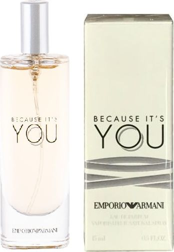 Emporio Armani Because It''s You 15ml woda perfumowana [W] MINIATURA