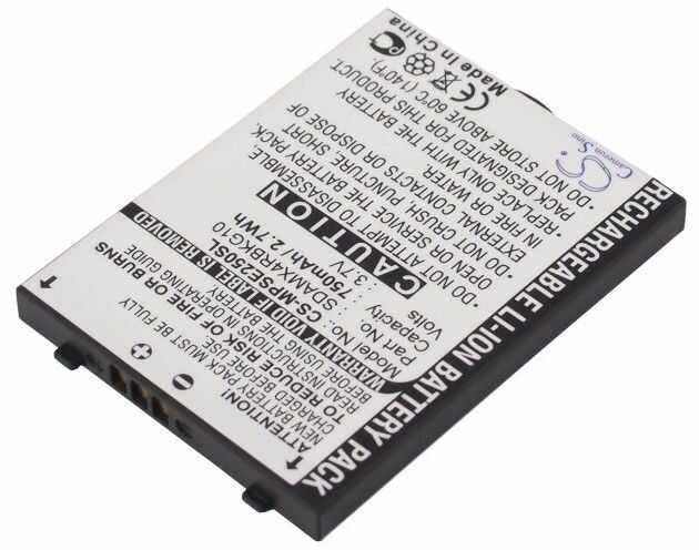 SanDisk Sansa E200 / 54-57-00046 750mAh 2.78Wh Li-Ion 3.7V (Cameron Sino)