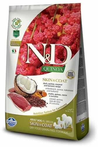 Farmina N&D Quinoa Skin & Coat Duck Adult Dog - karma z komosą i kaczką dla dorosłych psów