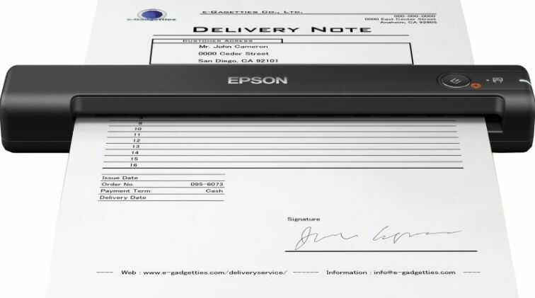 Skaner EPSON WorkForce ES-50 (B11B252401)