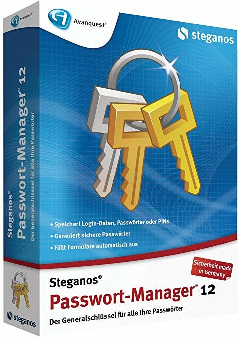 Steganos Password Manager 12 BOX